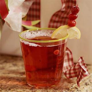 Cranberry-Raspberry Spritzer