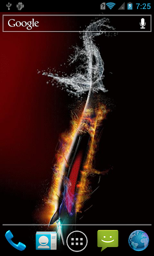 Knife in fire and water LWP