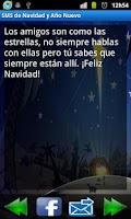 Screenshot of Sms Navidad y Año Nuevo