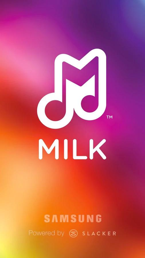 Milk Music™ - screenshot