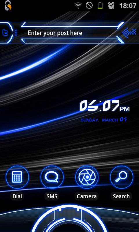 SmartShift Lockscreen- screenshot