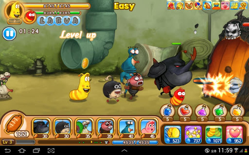 Larva Heroes: Lavengers  screenshots 15