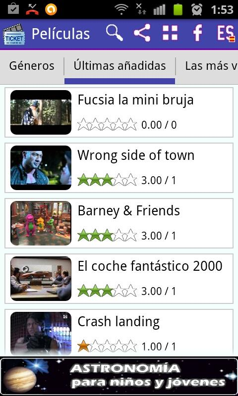 Peliculas Wifi Web: Movies - screenshot
