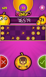 Pumpkin Bingo: FREE BINGO GAME- screenshot thumbnail