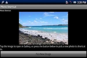 Screenshot of Photo Shortcut