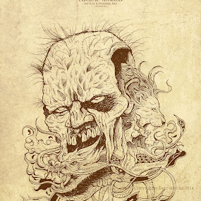 The Abstract by Taufik Nur Hidayat - Drawing All Drawing ( #doodle #drawing #art )