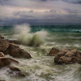 waveing by Joško Tomić - Landscapes Waterscapes