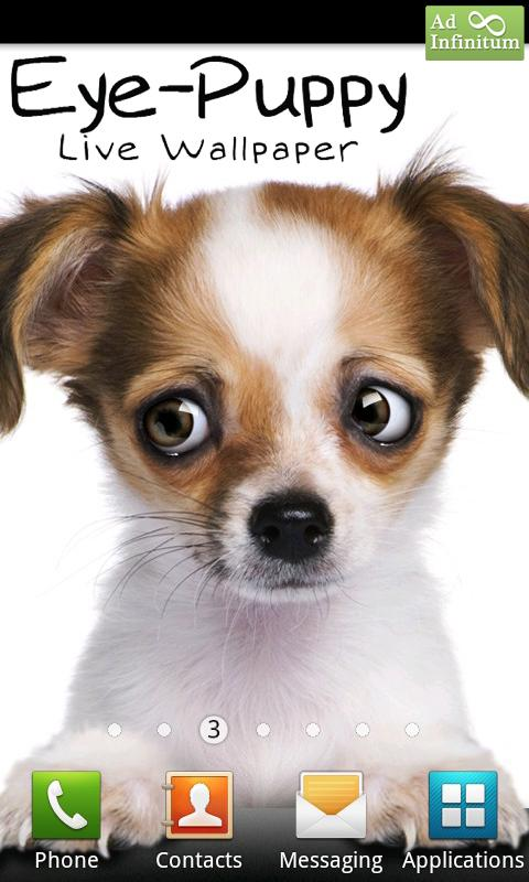 Eye-Puppy Live Wallpaper - screenshot