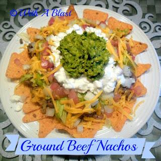 Ground Beef Nachos.