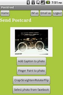 Postcards, Mugs, Calendars... - screenshot thumbnail