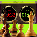 Chronomètre chess clock logo