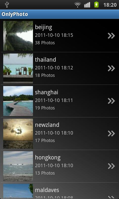 OnlyPhoto - screenshot