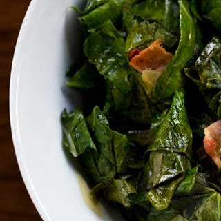 Collard Greens with Bacon.