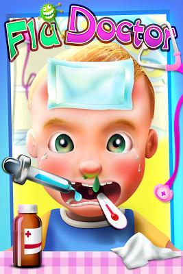 Little Baby Flu Doctor (Kids) - screenshot