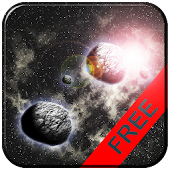 Asteroids 3d Wallpaper Free