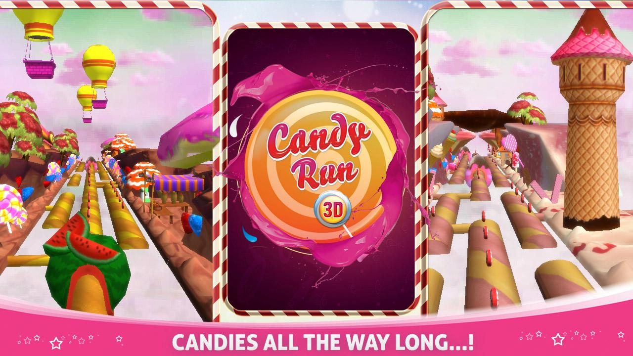candy run 3d android apps on google play. Black Bedroom Furniture Sets. Home Design Ideas