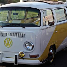-VW Bus- by Jermaine Pollard - Transportation Automobiles ( vw, vehicle, meet, volkswagen,  )