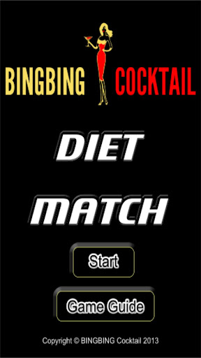 BINGBING Cocktail Diet Match