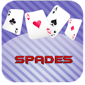 Spades card game icon