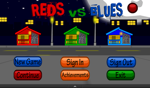 Reds vs Blues - Zombies