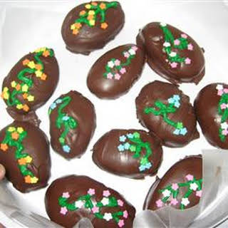 Chocolate Covered Easter Eggs.