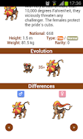 Screenshot of WahackDex - VI Gen. Pokédex