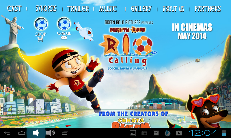 Screenshots of Mighty Raju - Rio Calling for iPhone