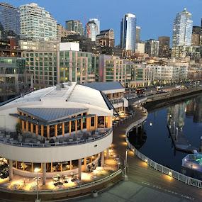 Pier 66 in Seattle  by George Herbert - City,  Street & Park  Skylines