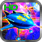A STARSHIP COMBAT Racing Game