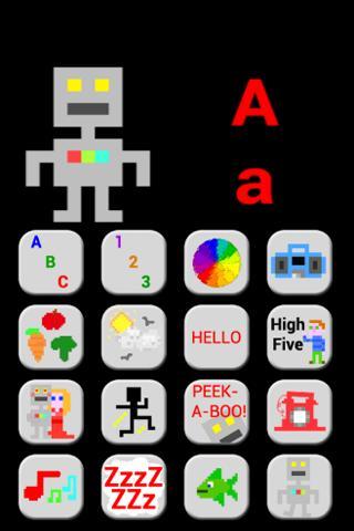 Toddler Robot- screenshot