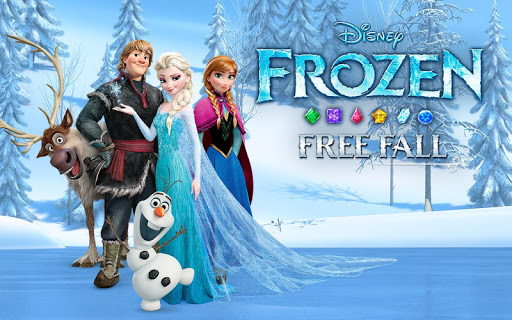 Disney Frozen Free Fall - Play Frozen Puzzle Games  (Mod)