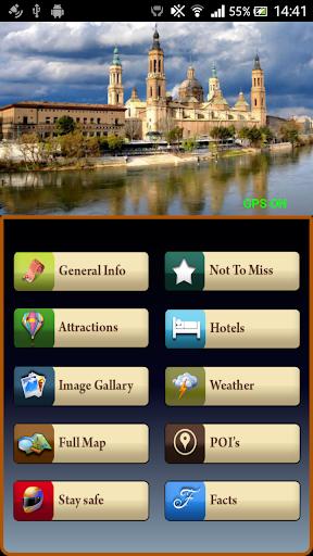 Zaragoza Offline Travel Guide