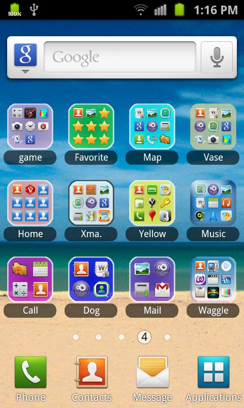 App Color Folder - screenshot