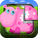Animal puzzle for kids HD logo