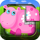 Animal puzzle for kids HD icon