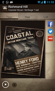 Coastal Bryan Heritage Trail- screenshot thumbnail