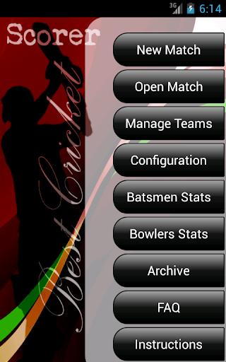 Best Cricket Scorer FREE 5.2.4 screenshots 1