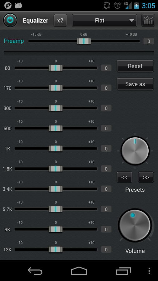 jetAudio Music Player Basic - screenshot