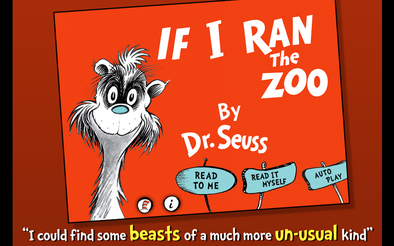 If I Ran the Zoo - Dr. Seuss - screenshot