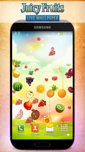 多汁的水果動態壁紙