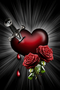 Heart Roses Live Wallpaper - screenshot thumbnail