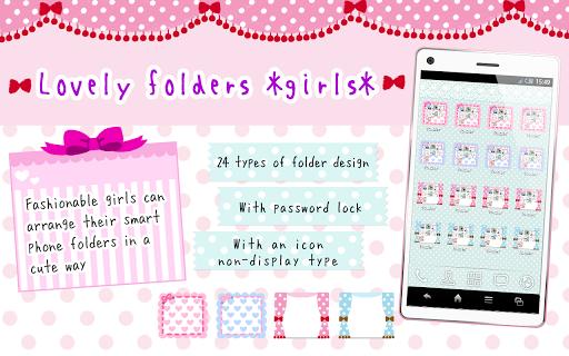 Lovely folder *girls*