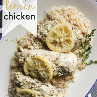 Lemon Crock Pot Chicken.