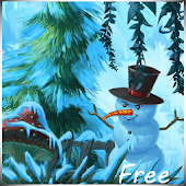Winter Cartoon Forest Free