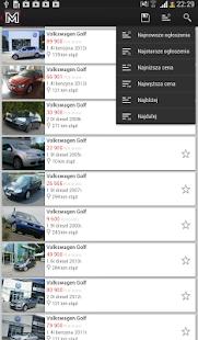 otoMoto - screenshot thumbnail