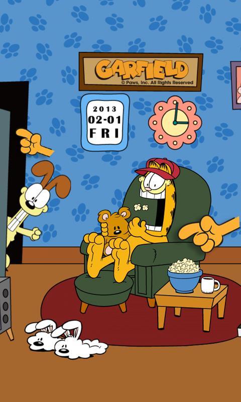 Home Sweet Garfield Live WP- screenshot
