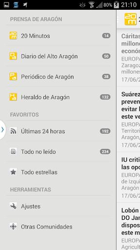 Prensa de Aragón