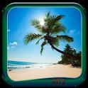 Sandy Beach Wallpaper HD icon
