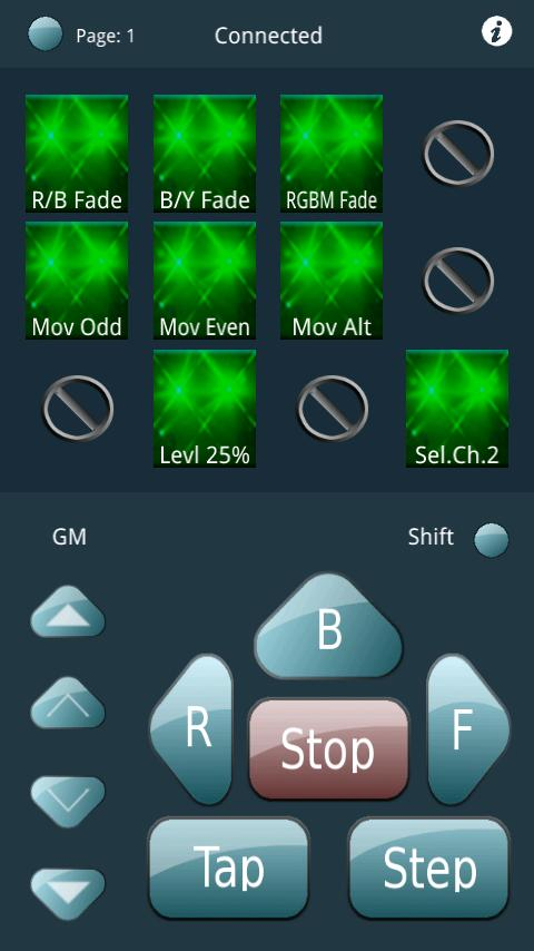 BlueLite iPanel- screenshot