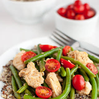 Quinoa With Chicken And Green Beans Recipes.